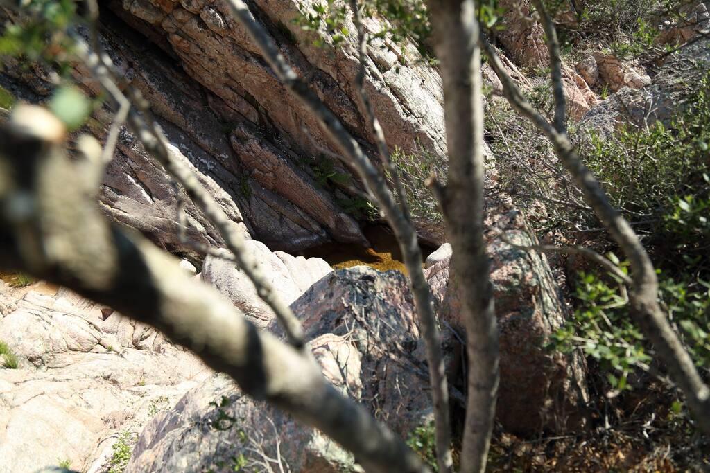 Il B&B si affaccia su uno splendido Canyon naturale