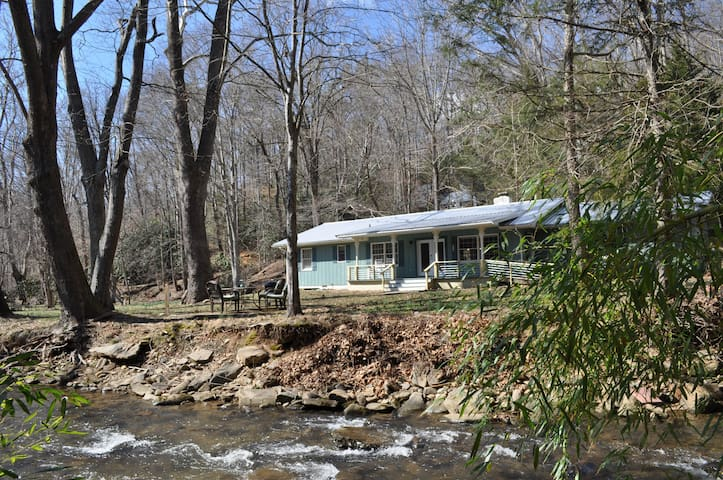 BOLD CREEK GETAWAY 15 MIN. FROM ASHEVILLE/BlackMtn