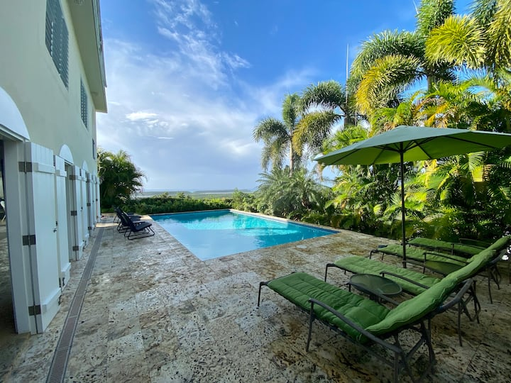 Eco-Friendly Luxury villa with pool and view