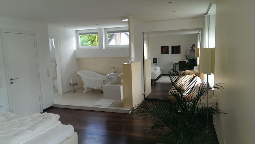 Room in Designer House near Frankfu - Obertshausen - Willa