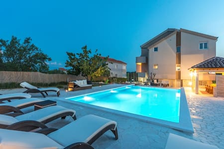 Modern Holiday Home in Pristeg with Pool