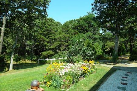 Quiet 2-acre oasis near Wellfleet Bay