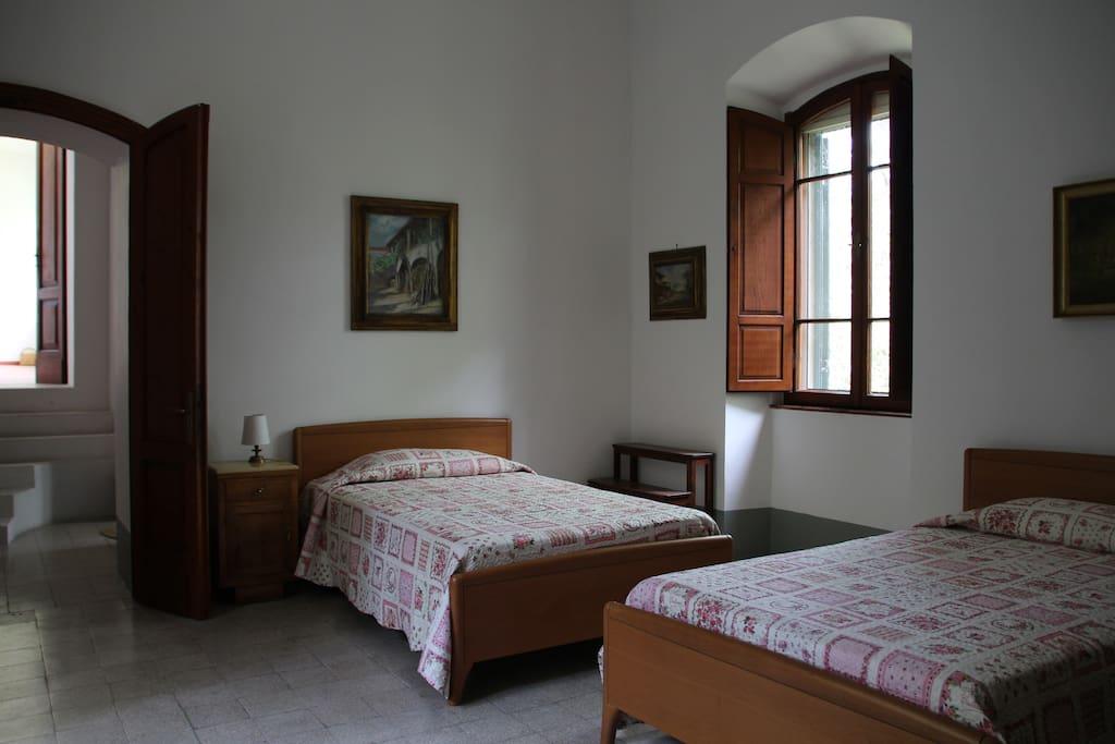Camera doppia-Twin bedded room King singles