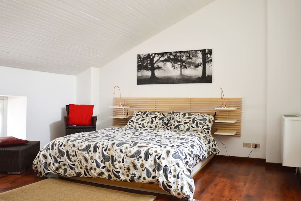 Letto matrimoniale/real bed
