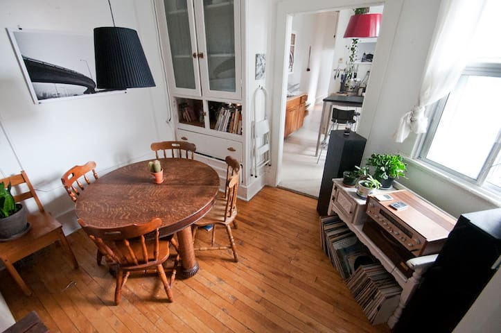 Awesome Apt Heart of the Mile-End! - Montreal - Apartamento