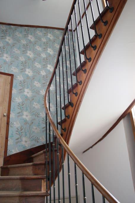 Stairwell of Villa Gracieuse