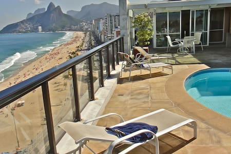 IPANEMA'S MOST BEAUTIFUL VIEW for 6+2