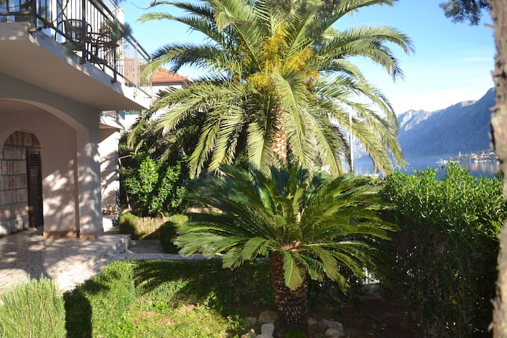 1 SEAFRONT, private balcony - HOUSE 44 - Kotor