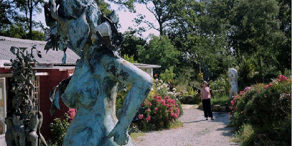 La ferme des arts de bizec à ARGOL