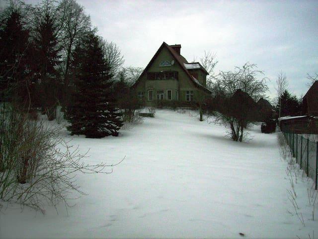 Zahlsche Villa mit Blick über Feldberg - Feldberger Seenlandschaft - House