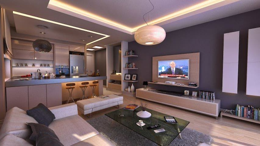 İzmir Bornova 1+1 Residence (Lüx) - İzmir - Daire