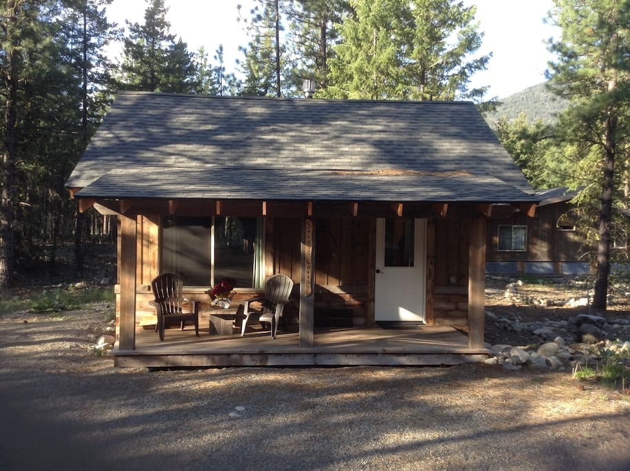 Mazama trails studio cottage cabins for rent in winthrop for Winthrop cabin rentals