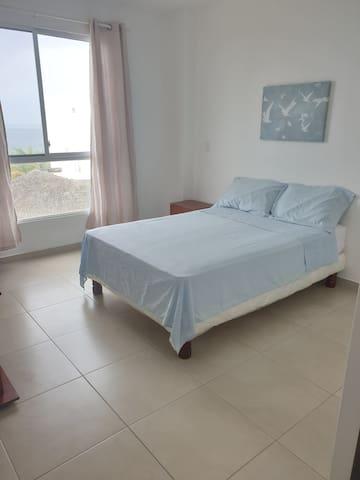 Dormitorio máster, cama 2plz