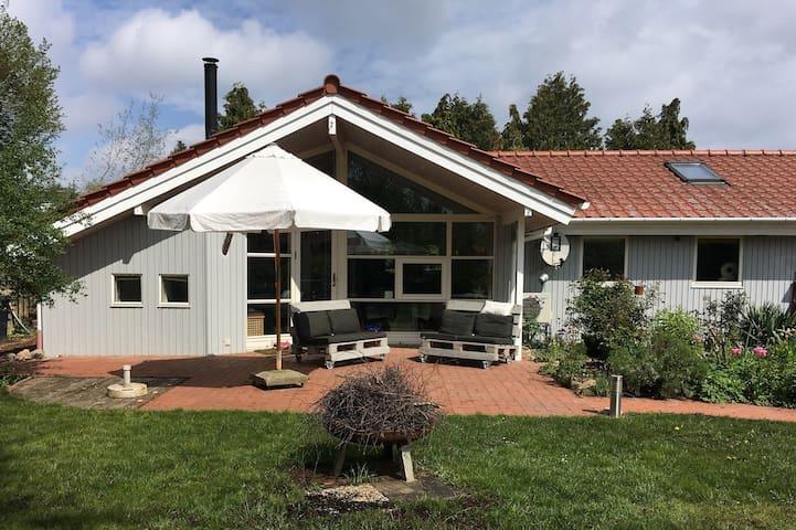 Danish House in the countryside near Hamburg