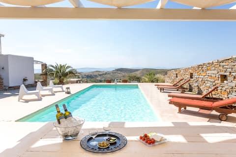 Kea Villa Thea 'Petra' House with pool