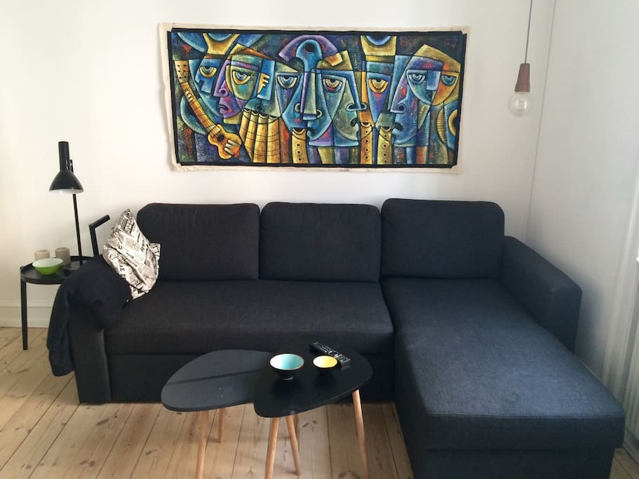 The sofa bed