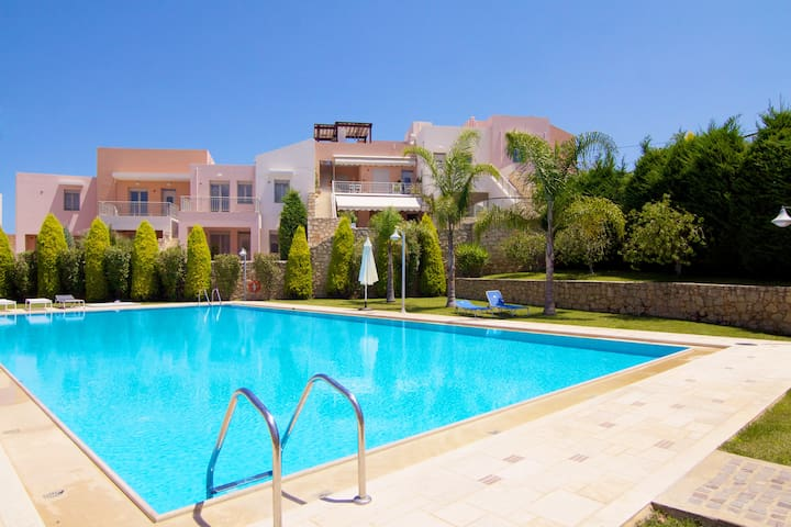 Loutra Resort - 2 Bedroom Apartment - Λούτρα - House