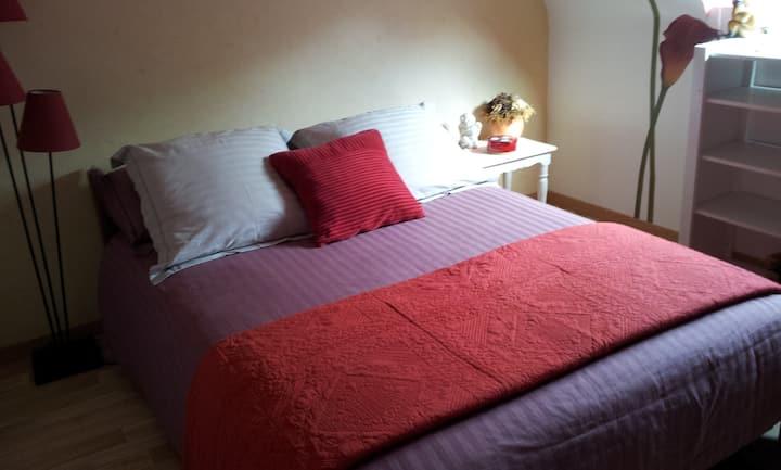 Chambre privé chez Didier et Mirtha