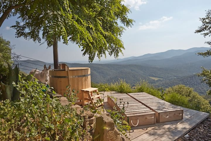 La Dolce Vita - romantic retreat in quiet nature - Vetulonia - Stuga