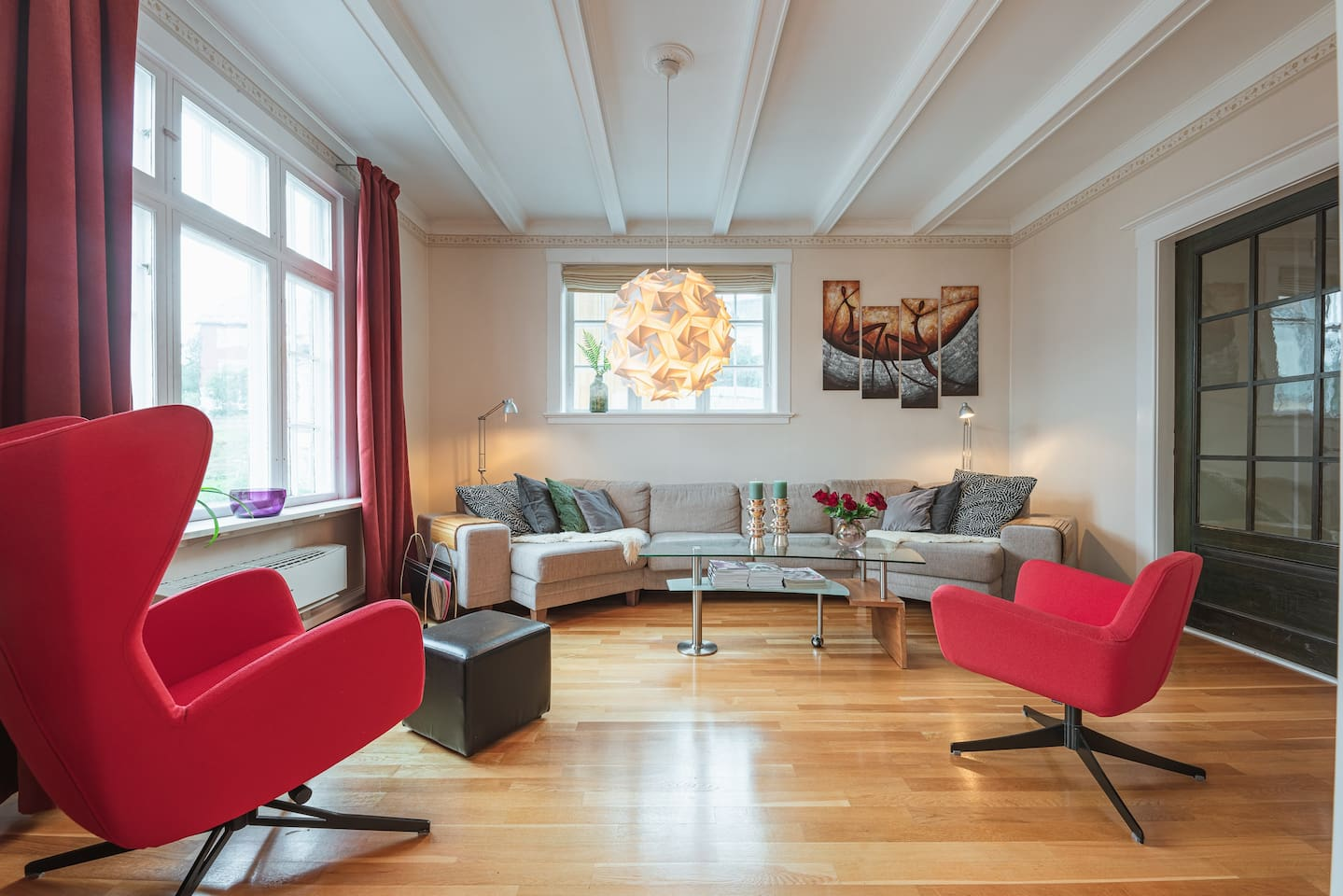 Innermost living room with comfortable seating.