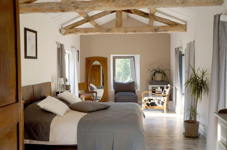 La chambre la Blancarède - Sainte-Cécile-d'Andorge - House