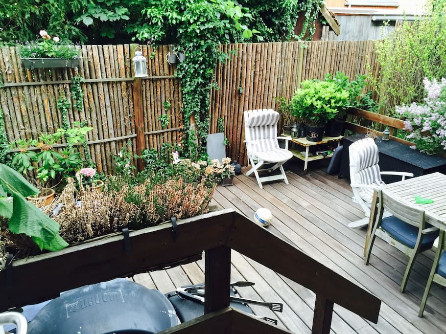 Terrasse with bbq