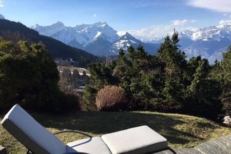 Charming 7 people flat  - Ski Villars-sur-Ollon