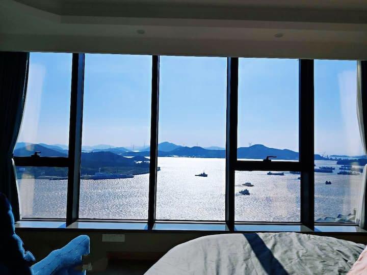 【弱水之滨】舟山定海高层海景公寓