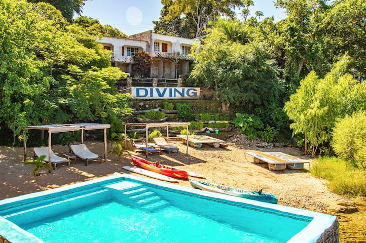 Aqua Africa Lodge and Diving School - Double Room
