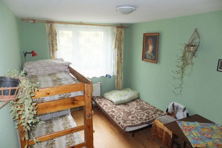 Room in agrotouristic farm - Lewin Kłodzki - บ้าน