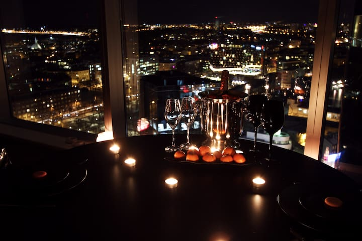 We don't lie - the view is exactly that romantic