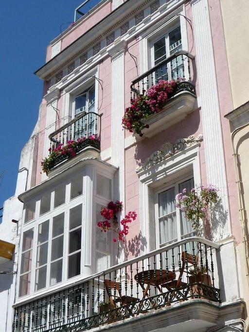 La Casa Rosa in its beauty!