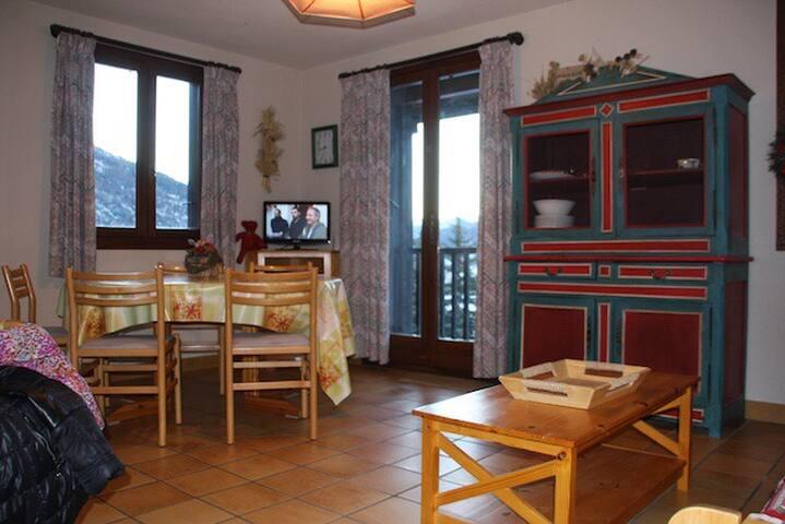 Duplex F3 dans residence chalet - Le Monêtier-les-Bains - Apartment