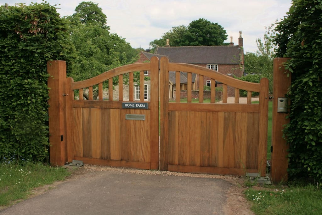 electric gated access to property