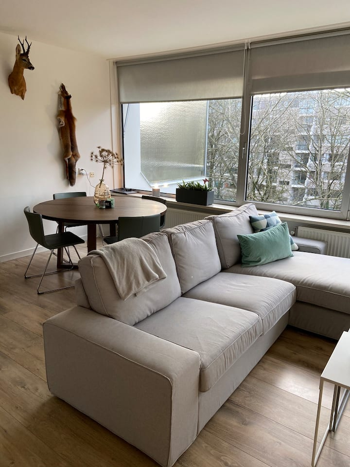 Sfeervol appartement midden in de natuur