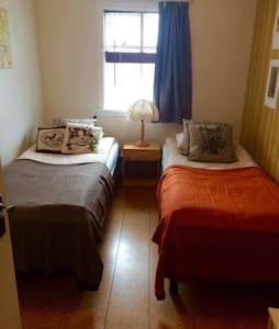 Einarsstaðir Homestay, simple twin room - Vík