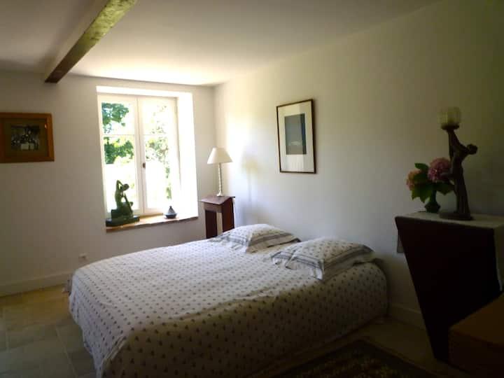 Chambre double en Beaujolais
