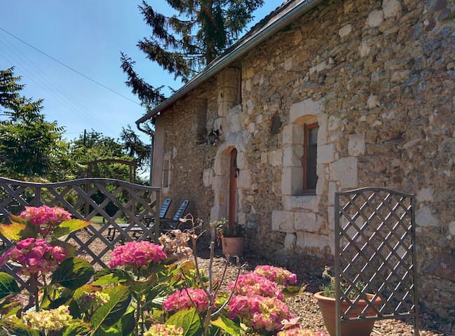 V. peaceful charming 15c cottage 3* tourist rating - Sermaise - Dům