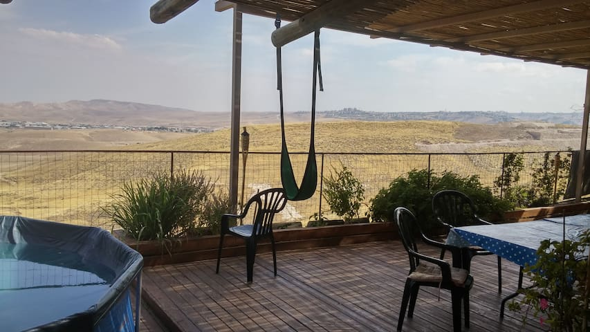 Beautiful Villa in Judea Desert - Kfar Adumim - 별장/타운하우스