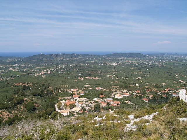 Villa In Zakynthos. Amazing View - Agia Marina - Casa de camp