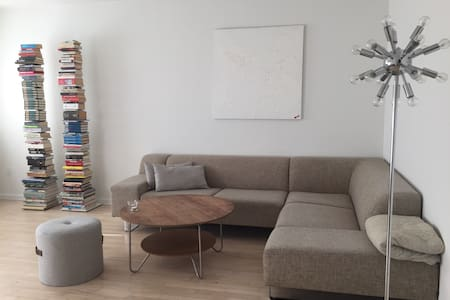 Room in large and bright apartment - Copenhaguen - Pis