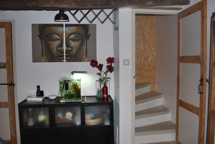 Maison de Village à la semaine - Saint-Étienne-les-Orgues - Casa