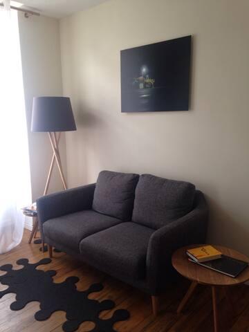 Private floor in duplex flat - Bordeaux - Wohnung