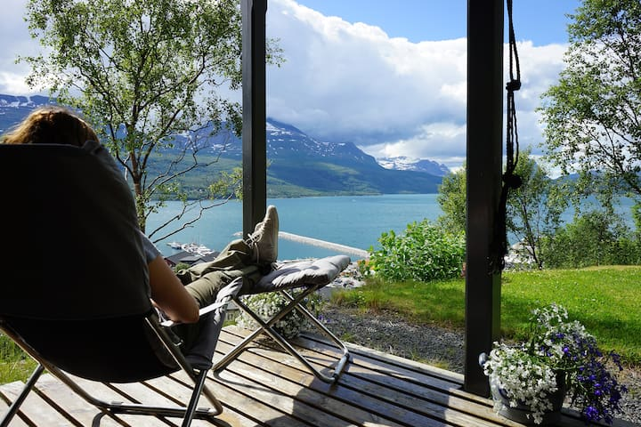 Villa Hegge - Design Cabin with fab view - Salangen - Kabin