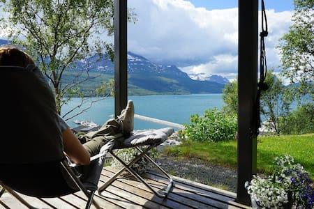 Villa Hegge - Design Cabin with fab view - Salangen - Srub