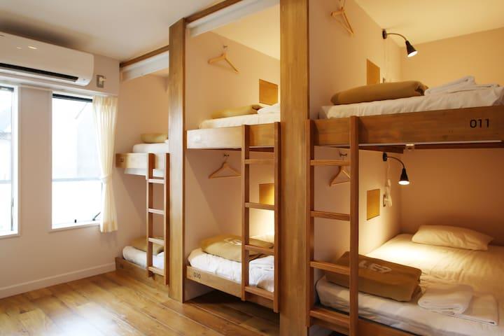 1 min->Kujo Station/ Single Female Dormitory