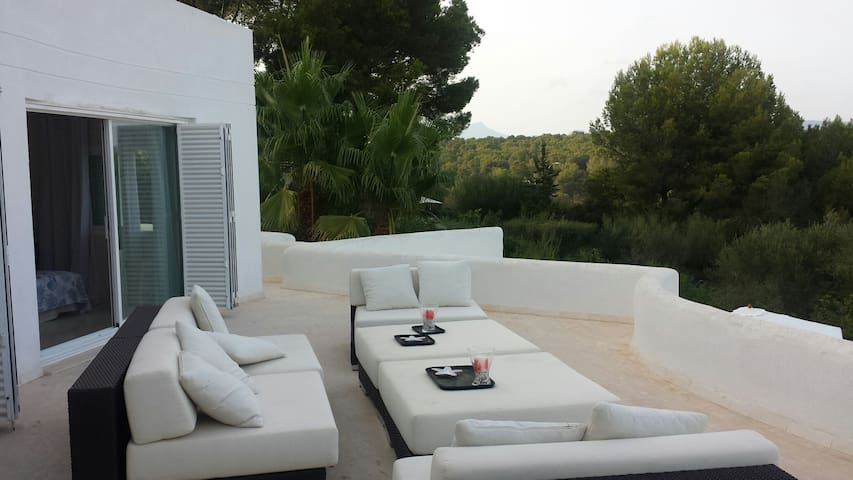 magnificent villa with pool - Sol de Mallorca - Huis