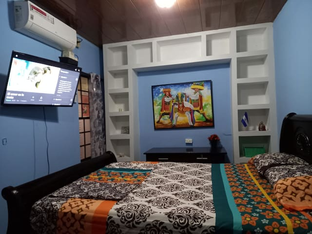 Watch Netflix/disney + in the comfort of your room!