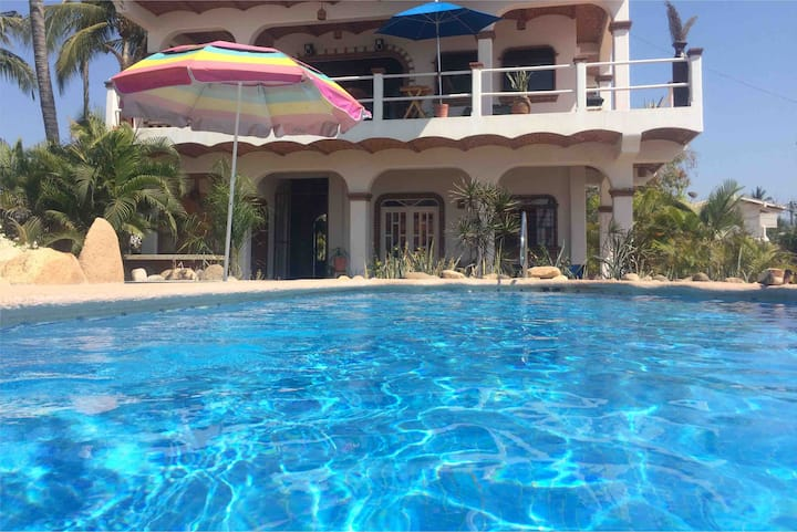 Casa Oceana Pet Friendly La Peñita Nayarit México