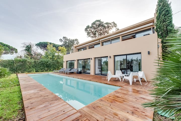 Villa GAIA - Piscine - Vue Golfe de Saint Tropez